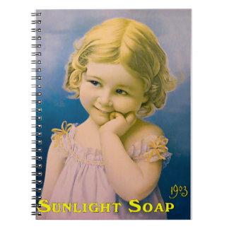Vintage Art image for Photo Notebook