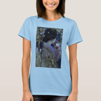 Vintage Art, Japanese Lady with Fan by Henry T-Shirt