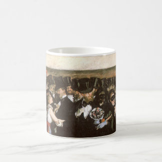 Vintage Art, Masked Ball at the Opera by Manet Coffee Mug