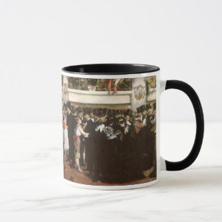 Vintage Art, Masked Ball at the Opera by Manet Mug