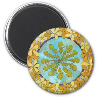 Vintage Art Nouveau 2 Inch Round Magnet