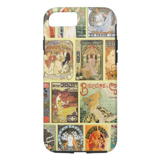 Vintage Art Nouveau Advertisements iPhone 7 Case