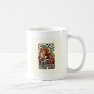 Vintage Art Nouveau Alphonse Mucha Coffee Mug