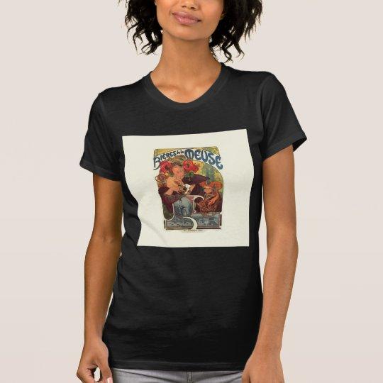 Vintage Art Nouveau Alphonse Mucha T-Shirt