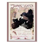 Vintage art nouveau auction journal ad post cards