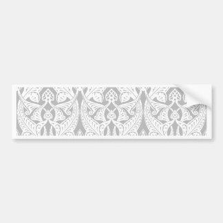 Vintage Art Nouveau Background Bumper Sticker
