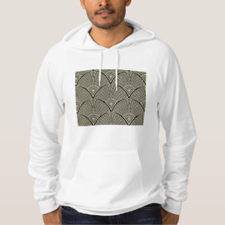vintage,art nouveau,beige,grey,art deco, french,ru hoodie