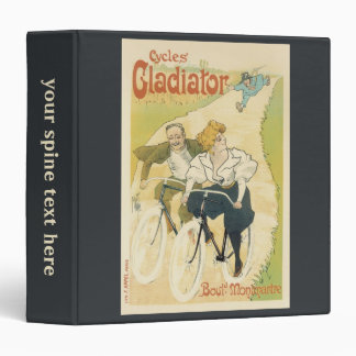 Vintage Art Nouveau, Bicycles Gladiator Cycles Binder