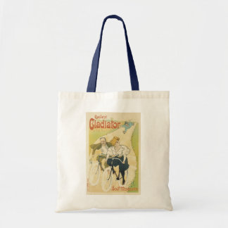 Vintage Art Nouveau, Bicycles Gladiator Cycles Tote Bag