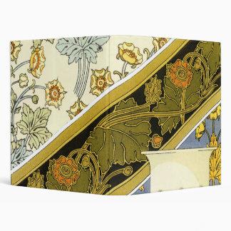 Vintage Art Nouveau Buttercup, M.P. Verneuil Binders