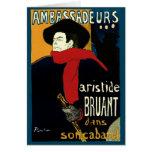 Vintage Art Nouveau by Henri de Toulouse Lautrec Cards