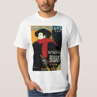 Vintage Art Nouveau by Henri de Toulouse Lautrec T-Shirt