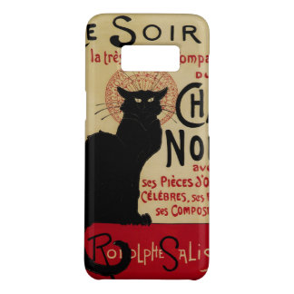 Vintage Art Nouveau, Ce Soir Chat Noir Black Cat Case-Mate Samsung Galaxy S8 Case