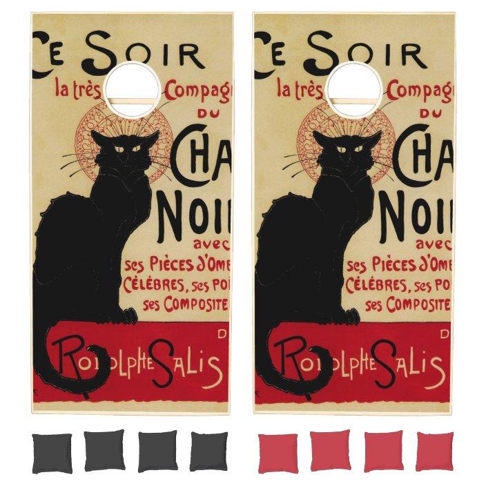 Black Cat Ce Soir La Chat Noir French Caberet Theophile Steinlen Poster
