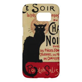 Vintage Art Nouveau, Ce Soir Chat Noir Black Cat Samsung Galaxy S7 Case