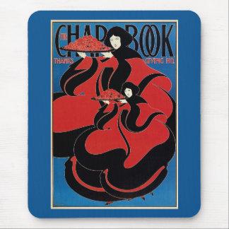 Vintage Art Nouveau Chap Book Thanksgiving Mouse Pad