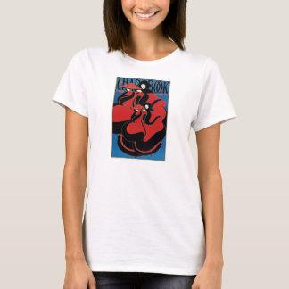Vintage Art Nouveau Chap Book Thanksgiving T-Shirt