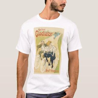 Vintage Art Nouveau Couple Bicycle Gladiator Cycle T-Shirt