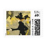 Vintage Art Nouveau, Divan Japonais Nightclub Cafe Stamps