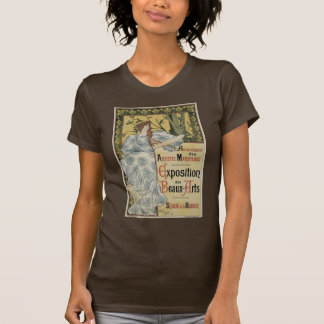 Vintage Art Nouveau, Exposition des Beaux Arts T-Shirt