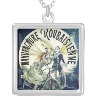 Vintage Art Nouveau Fairies, Pierrot Bicycle Moon Custom Jewelry