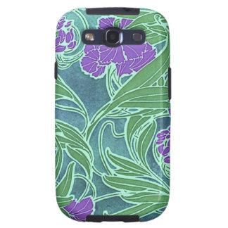 Vintage Art Nouveau Floral Samsung Galaxy SIII Covers