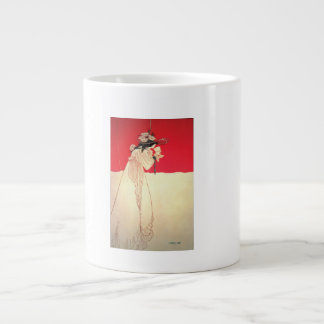 Vintage Art Nouveau ~ Isolde by Beardsley Giant Coffee Mug