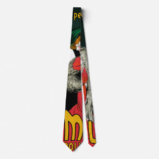 Vintage Art Nouveau, Italian Fashion Love Romance Neck Tie