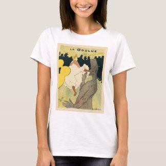 Vintage Art Nouveau, La Goulue by Toulouse Lautrec T-Shirt