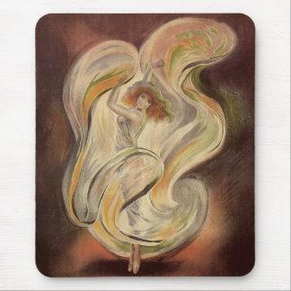 Vintage Art Nouveau, La Loie Fuller Dancer Dancing Mouse Pad