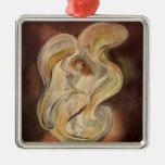 Vintage Art Nouveau, La Loie Fuller Dancer Dancing Ornament