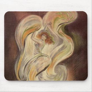 Vintage Art Nouveau, La Loie Fuller Modern Dancer Mouse Pad