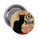 Vintage Art Nouveau, Le Chat Noir Button