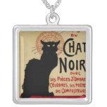 Vintage Art Nouveau, Le Chat Noir Necklaces