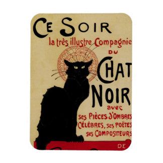 Vintage Art Nouveau, Le Chat Noir Rectangular Magnets
