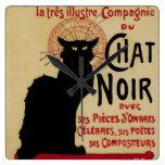 Vintage Art Nouveau, Le Chat Noir Wallclock