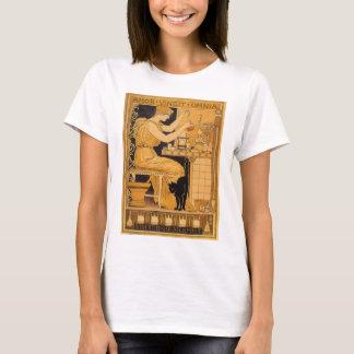 Vintage Art Nouveau, Love Conquers All Scientist T-Shirt