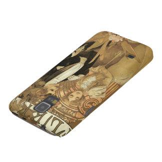 Vintage Art Nouveau Love Romance, Flirt by Mucha Galaxy S5 Covers