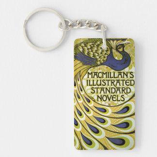 Vintage Art Nouveau, Macmillan's Peacock Feather Keychain