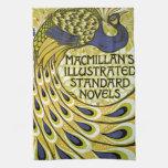 Vintage Art Nouveau, Macmillan's Peacock Feather Hand Towels