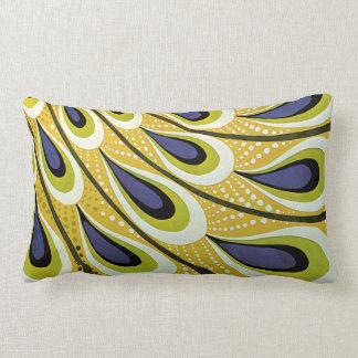 Vintage Art Nouveau, Macmillan's Peacock Feather Lumbar Pillow