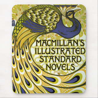 Vintage Art Nouveau, Macmillan's Peacock Feather Mouse Pad
