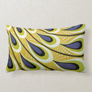 Vintage Art Nouveau, Macmillan's Peacock Feather Throw Pillows