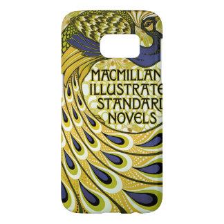 Vintage Art Nouveau, Macmillan's Peacock Feather Samsung Galaxy S7 Case