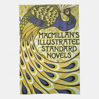 Vintage Art Nouveau, Macmillan's Peacock Feather Towel