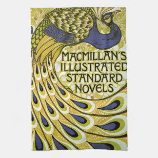 Vintage Art Nouveau, Macmillan's Peacock Feather Towels