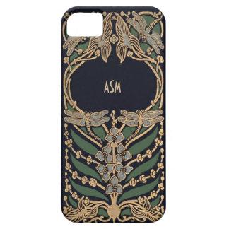 Vintage Art Nouveau Monogram iPhone 5 Covers