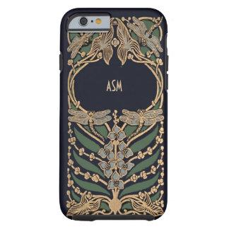 Vintage Art Nouveau Monogram Tough iPhone 6 Case