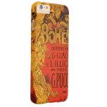 Vintage Art Nouveau Music, La Boheme Opera, 1896 Barely There iPhone 6 Plus Case