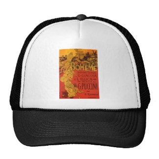 Vintage Art Nouveau Music, La Boheme Opera, 1896 Trucker Hat